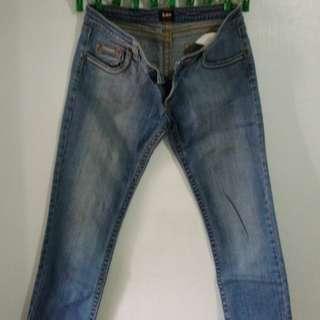 Original Lee Pipes Maong Pants