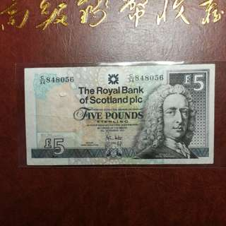 蘇格蘭五磅