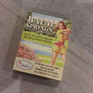 The Balm (balm spring) blush