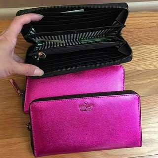 Kate Spade Wallet Zipper Pink