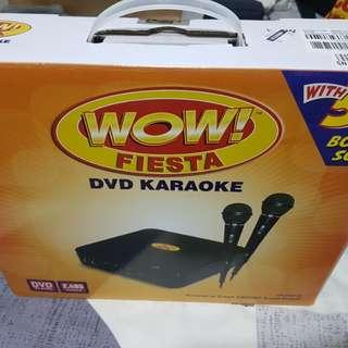 WOW FIESTA DVD KARAOKE (Brand New/Sealed)