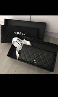 Chanel classic double wallet