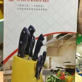 8pcs knife set