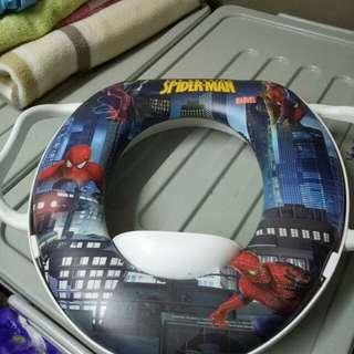 Toilet seat for potty train - spiderman