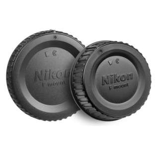 Lens Cap & Body Lens Cap for Nikon F Mount