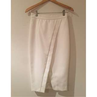 SHEIKE White Skirt Worn Only Once