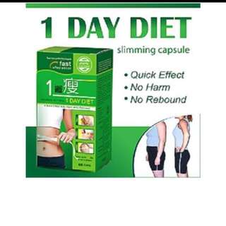 One day diet weight loss pills