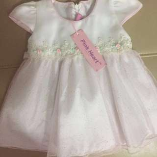 Brand new baby girl princess dress with label attached