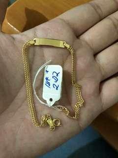 18k Saudi Gold Bracelet's Just me for price