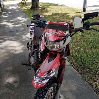 Honda XR125 parts