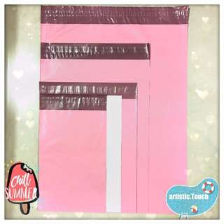 Limited Ed Baby Pink Polymailers for clothes/accessories