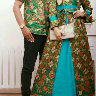 Batik couple set
