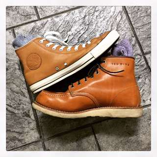 Red Wing Irish Setter with Free Converse