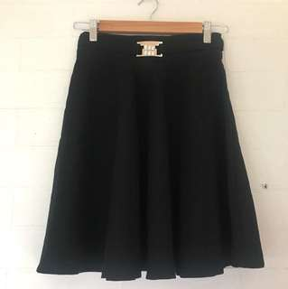 Black Skirt Size S