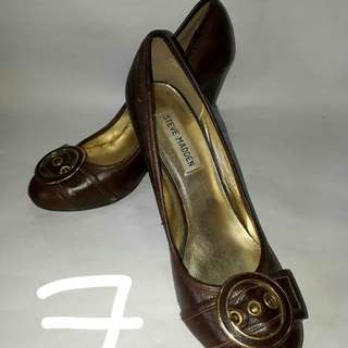 Steve Madden Brown Heel Shoes