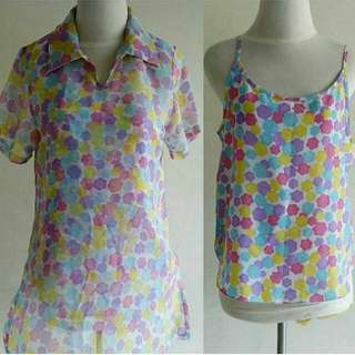 Blouse (inner and outer)