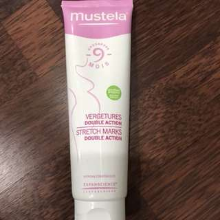 Mustela stretchmark double action / cream anti stretchmark