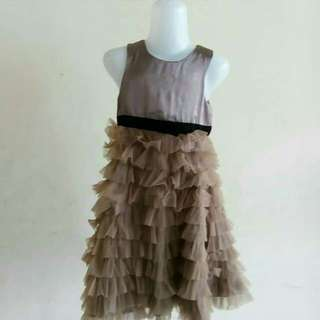 Brown dress for kid