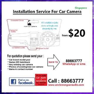 Car Camera Installer
