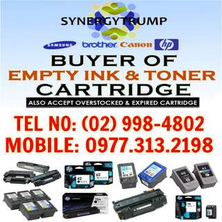 BUYER OF EMPTYINK AND TONER CARTRIDGES