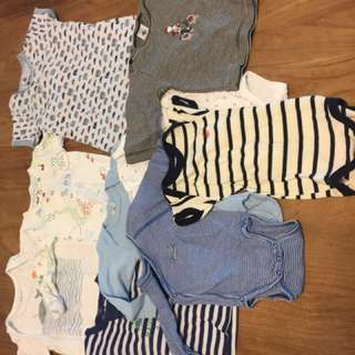 Bodies - brands like: petit bateau, gap, sea apple - price per item!