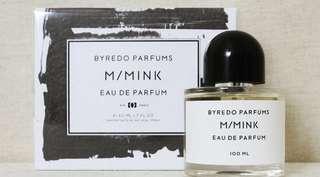 Byredo M/Mink Eau de Parfum 100ml for Men & Women