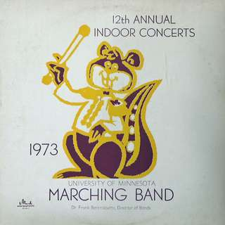 marching band, Vinyl LP, used, 12-inch original pressing
