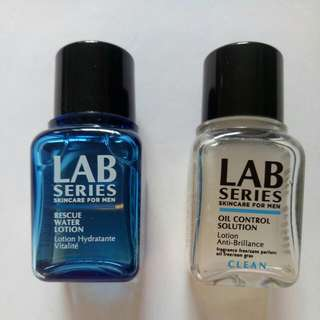 New Lab Series Rescue Water Lotion Or Lab Series Oil Control Solution