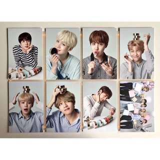 BTS x VT New Year Photocards
