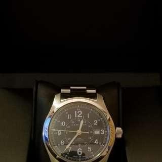 HAMILTON 男裝 KHAKI 手錶