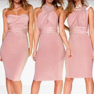 Multiway tie up dress