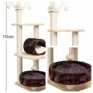 Cat tower tree scratching post