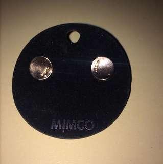 Mimco Waver Stud Rose Gold