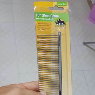 Andis Dog Grooming Comb 10 inch