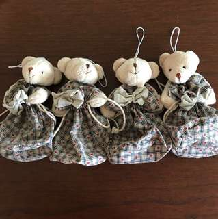 Teddy Bear Drawstring Pouch