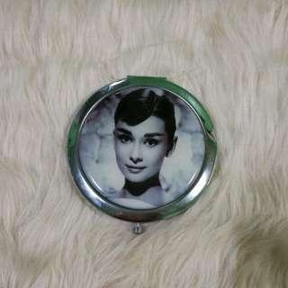 Audrey Hepburn Compact Mirror