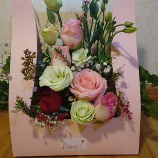 Fresh Flower Bouquet box for all occasions!