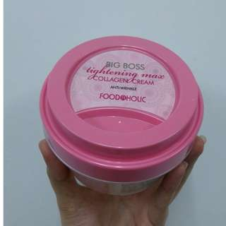 FOODAHOLIC BIG BOSS TIGHTENING MASK COLLAGEN CREAM (300G)
