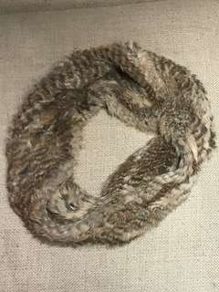 Rudsak Rabbit Fur Loop Scarf