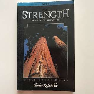 Bible Study Guide - The Strength of an Exciting Passion (A Study of Acts)