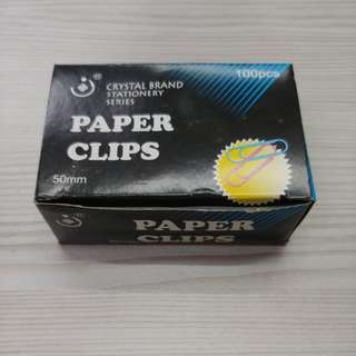 Color Paper Clips (50mm)
