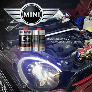 MINI Cooper S with Voltronic C+ Gran Turismo Fully Synthetic  Ceramic  Motor Oil