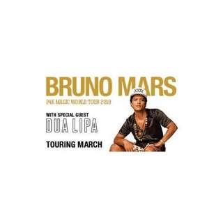 Bruno Mars 1x GA 7:30pm Sunday 18th of March 2018