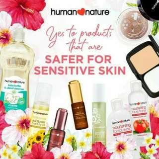 10%-15% Discount!!! Human Nature Personal and Home Care Products