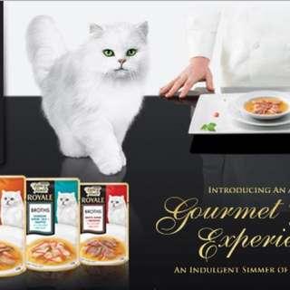 Fancy Feast Royal Broth Cat Food 40g, 12 packs