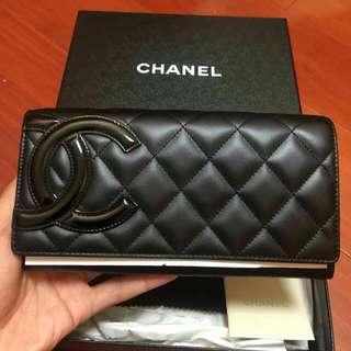 100%新100%真Chanel 長銀包
