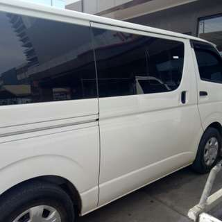 Assume Hiace Commuter MT 2017