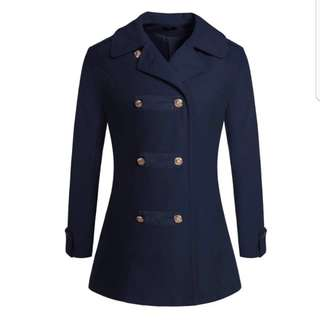 Womens Military Wool Jacket