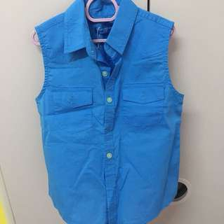 Kids Sleeveless Shirt