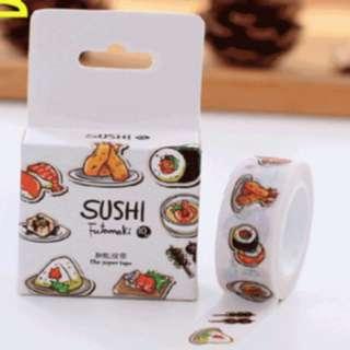 WASHI TAPE Sushi Themed